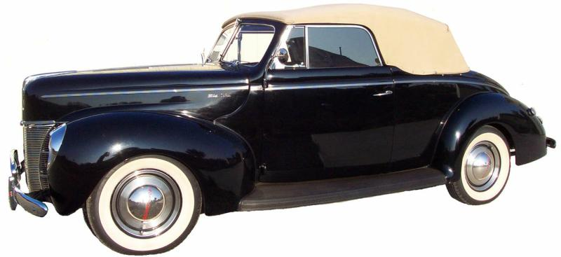 JohnMargaret's'40 Convertible 1
