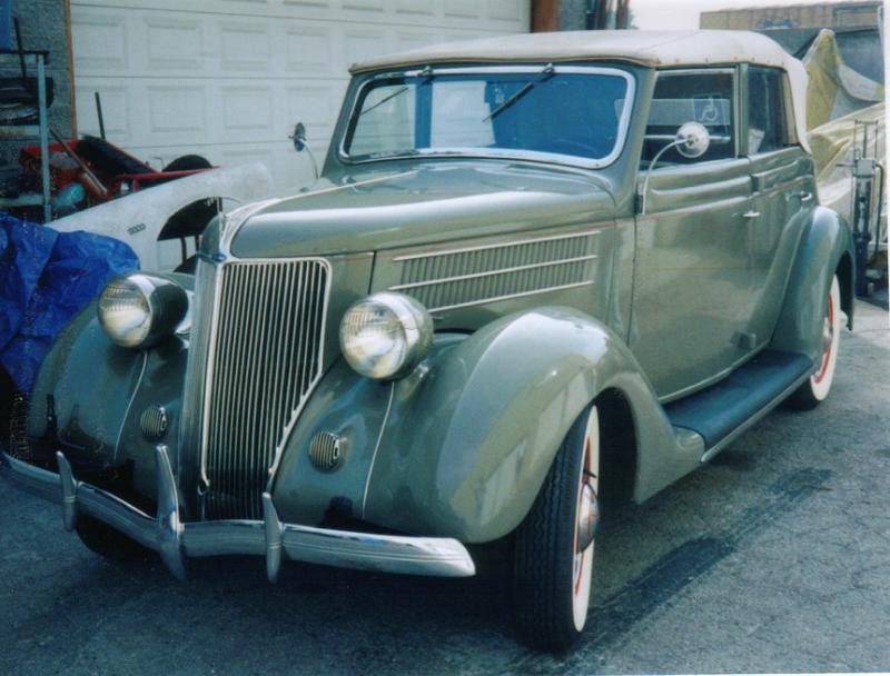John's '36 Conv touring sedan