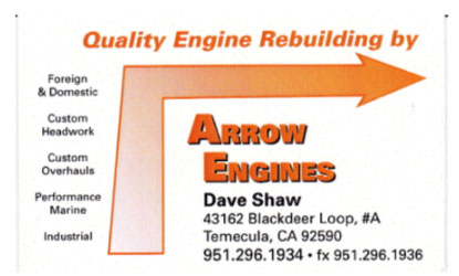 Arrow Engines
