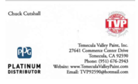 Temecula Valley Paint