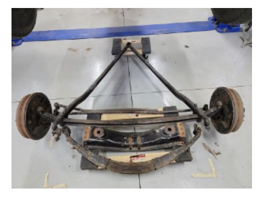Early Ford front suspension