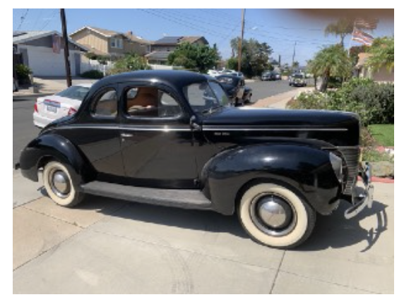 1940 Deluxe Ford Coupe 2110